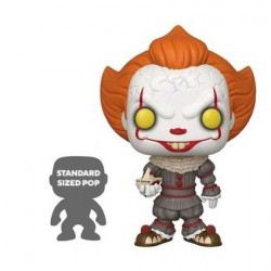 Figur Pop! 25 cm It Chapter 2 Pennywise with Boat Funko Online Shop Switzerland