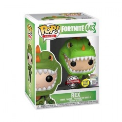 Figur Pop! Glow in the Dark Fortnite Rex Limited Edition Funko Online Shop Switzerland