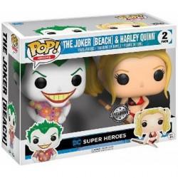 Figurine Pop! DC Heroes Beach Joker et Harley Quinn 2-pack Edition Limitée Funko Boutique en Ligne Suisse