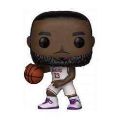 Figurine Pop! Basketball NBA Lakers Lebron James White Uniform Funko Boutique en Ligne Suisse
