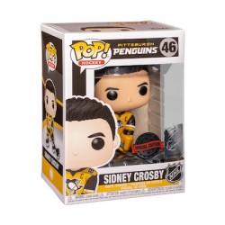Figurine Pop! Hockey NHL Sidney Crosby Pittsburgh Penguins Edition Limitée Funko Boutique en Ligne Suisse