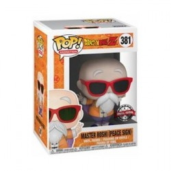 Figur Pop! Dragon Ball Z Master Roshi Peace Sign Limited Edition Funko Online Shop Switzerland