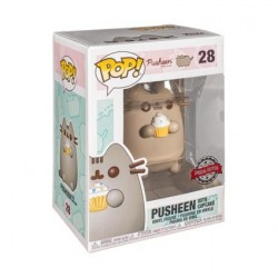 Figur Pop! Pusheen Pusheen with Cupcake Limited Edition Funko Online Shop Switzerland