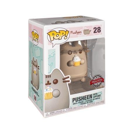 Figur Pop! Pusheen Pusheen with Cupcake Limited Edition Funko Online Shop Switzerland