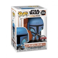 Figur Pop! Metallic Star Wars The Mandalorian Death Watch Limited Edition Funko Online Shop Switzerland