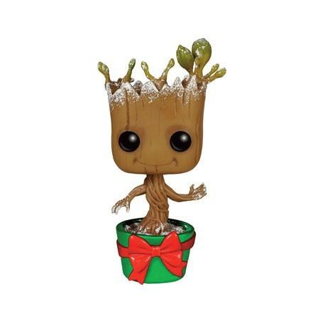 Figur Pop! Metallic Marvel Guardians of the Galaxy HolidaySnowy Dancing Groot Limited Edition Funko Online Shop Switzerland