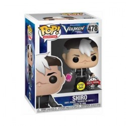 Pop! Glow in the Dar kVoltron Shiro Regular Clothes Limited Edition