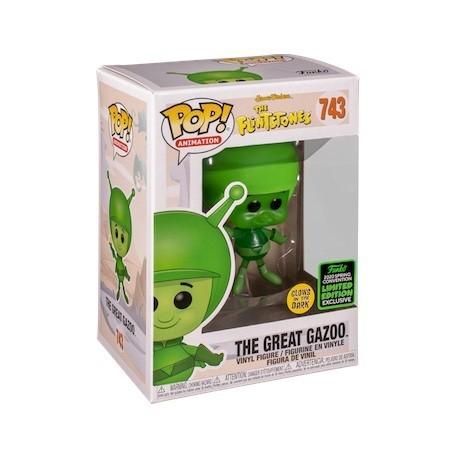 Figur Pop! ECCC 2020 Glow in the Dark The Flinstones The Great Gazoo Limited Edition Funko Online Shop Switzerland