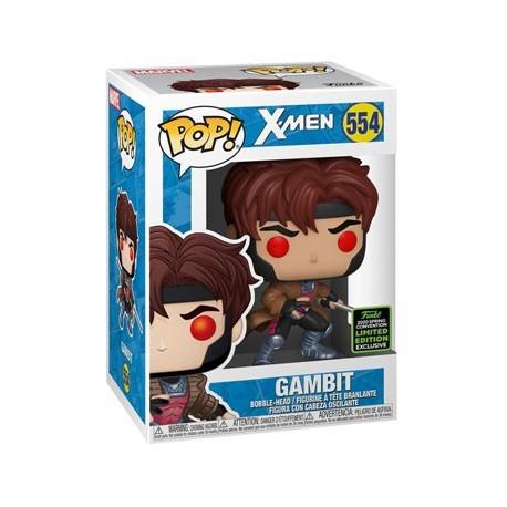 Figur Pop! ECCC 2020 X-Men Gambit Classic Limited Edition Funko Online Shop Switzerland