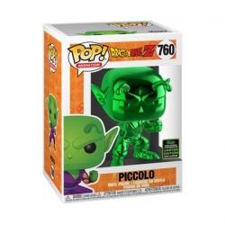 Figurine Pop! ECCC 2020 Chrome Dragon Ball Z Piccolo Vert Edition Limitée Funko Boutique en Ligne Suisse