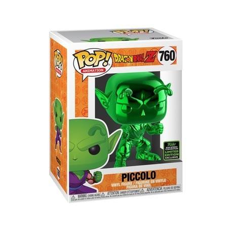 Figur Pop! ECCC 2020 Chrome Dragon Ball Z Piccolo Green Limited Edition Funko Online Shop Switzerland