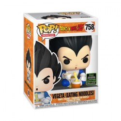 Pop! ECCC 2020 Dragon Ball Z Vegeta eating Noodles Limited Edition