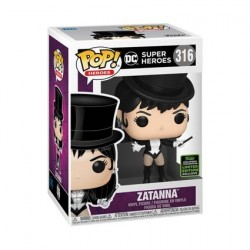 Figur Pop! ECCC 2020 DC Comics Zatanna Limited Edition Funko Online Shop Switzerland