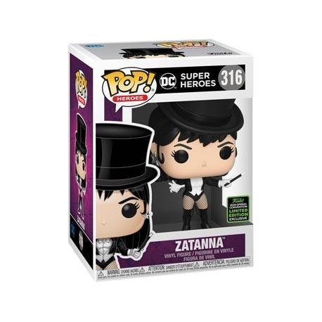 Figur Pop! ECCC 2020 DC Comics Zatanna Limited Edition Funko Online Shop Switzerland