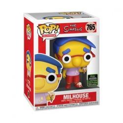 Figurine Pop! ECCC 2020 Les Simpsons Milhouse Edition Limitée Funko Boutique en Ligne Suisse