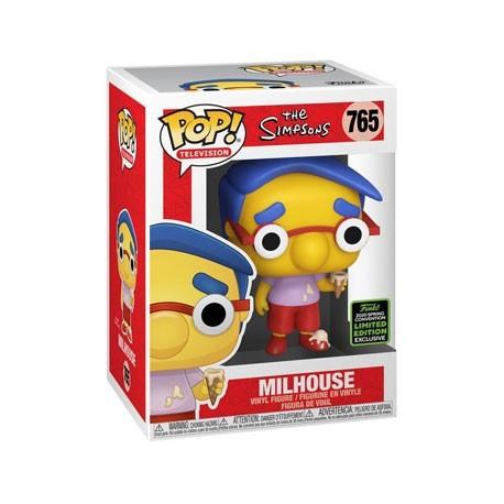 Figur Pop! ECCC 2020 The Simpsons Milhouse Limited Edition Funko Online Shop Switzerland