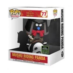 Figurine Pop! ECCC 2020 Mulan Mushu riding Panda Edition Limitée Funko Boutique en Ligne Suisse