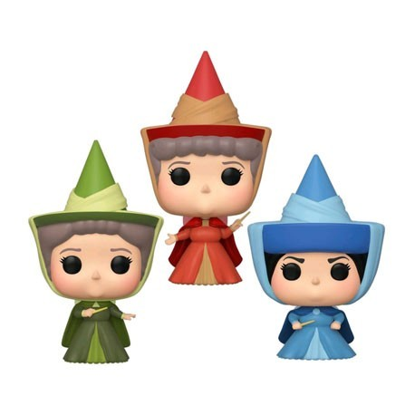 Figur Pop! ECCC 2020 Sleeping Beauty Fauna Flora et Merryweather Fairies Limited Edition Funko Online Shop Switzerland