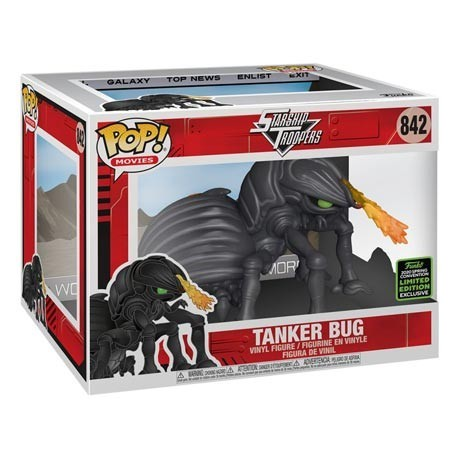 Figur Pop! ECCC 2020 15 cm Starship Troopers Tanker Bug Limited Edition Funko Online Shop Switzerland