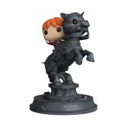 Figur Pop! Movie Moments Harry Potter Ron Riding Chess Piece Funko Online Shop Switzerland