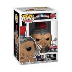 Figurine Pop! TV Power Rangers Pudgy Pig Edition Limitée Funko Boutique en Ligne Suisse