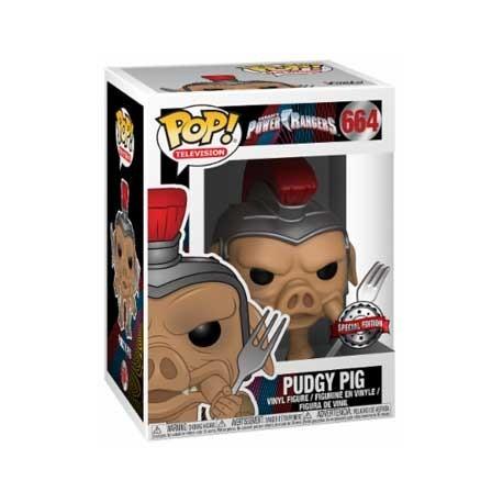Figur Pop! TV Power Rangers Pudgy Pig Limited Edition Funko Online Shop Switzerland