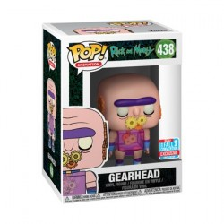 Figur Pop! NYCC 2018 Rick and Morty Gearhead Limited Edition Funko Online Shop Switzerland