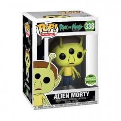 Figur Pop! ECCC 2018 Rick et Morty Alien Morty Limited Edition Funko Online Shop Switzerland