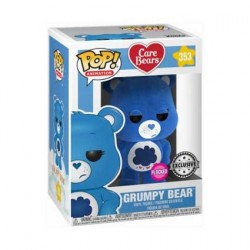 Figurine Pop! Floqué Care Bears Grumpy Bear Edition Limitée Funko Boutique en Ligne Suisse