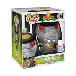 Figur Pop! 15 cm NYCC 2017 Power Rangers Green Dragonzord Limited Edition Funko Online Shop Switzerland