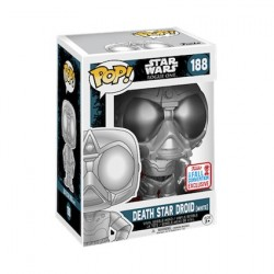 Figur Pop! NYCC 2017 Star Wars Rogue One Chromed Death Star Droid Limited Edition Funko Online Shop Switzerland