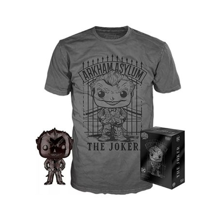Figur Pop! and T-shirt DC Comics The Joker Limited edition Funko Online Shop Switzerland