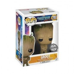 Figurine Pop! Marvel Les Gardiens de la Galaxie Teenage Groot Edition Limitée Funko Boutique en Ligne Suisse