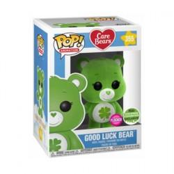 Figuren Pop! ECCC 2018 Flockierte Care Bears Good Luck Bear Limitierte Auflage Funko Online Shop Schweiz