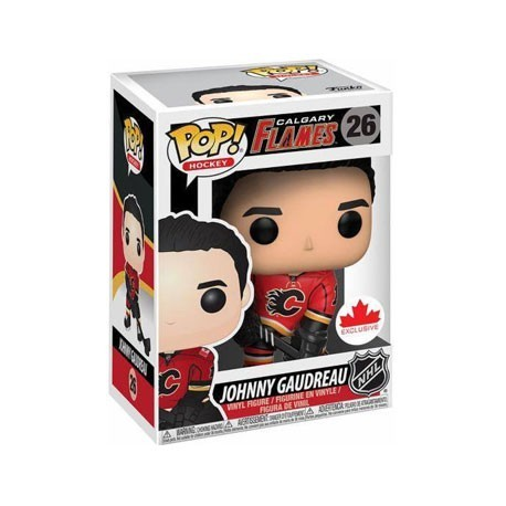 Figur Pop! Hockey NHL Johnny Gaudreau Home Jersey Limited Edition Funko Online Shop Switzerland