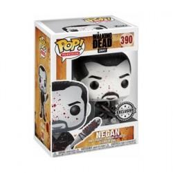Figurine Pop! The Walking Dead Negan Black and White Edition Limitée Funko Boutique en Ligne Suisse
