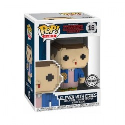 Figur Pop! Stranger Things 8 Bit Eleven with Eggos Limited Edition Funko Online Shop Switzerland