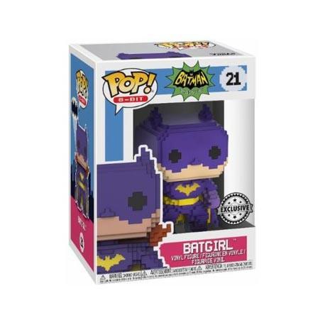 Figurine Pop! DC 8-Bit Classic Batgirl Edition Limitée Funko Boutique en Ligne Suisse