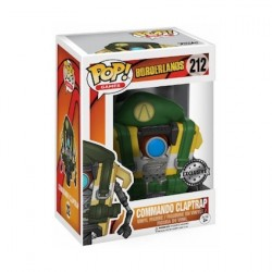 Pop! Borderlands Commando Claptrap Limited Edition