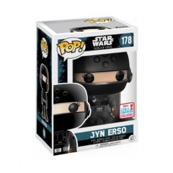 Pop! NYCC 2017 Star Wars Rogue One Jyn Erso Disguise Limited Edition