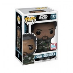 Pop! NYCC 2017 Star Wars Rogue One Saw Gerrera Limited Edition