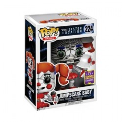 Pop! SDCC 2017 FNAF Sister Location Jumpscare Baby Limited Edition