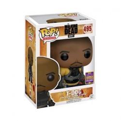 Figurine Pop! SDCC 2017 The Walking Dead T-Dog Edition Limitée Funko Boutique en Ligne Suisse