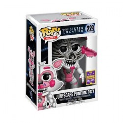 Pop! SDCC 2017 FNAF Sister Location Jumpscare Funtime Foxy Limited Edition