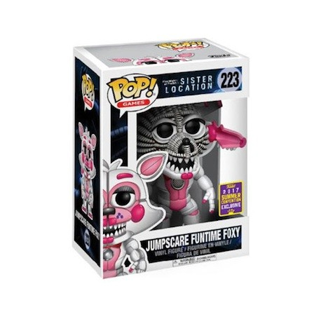Figur Pop! SDCC 2017 FNAF Sister Location Jumpscare Funtime Foxy Limited Edition Funko Online Shop Switzerland