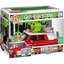 Pop SDCC 2016 Movies Ghostbusters Ecto 1 with Slimer Limited Edition
