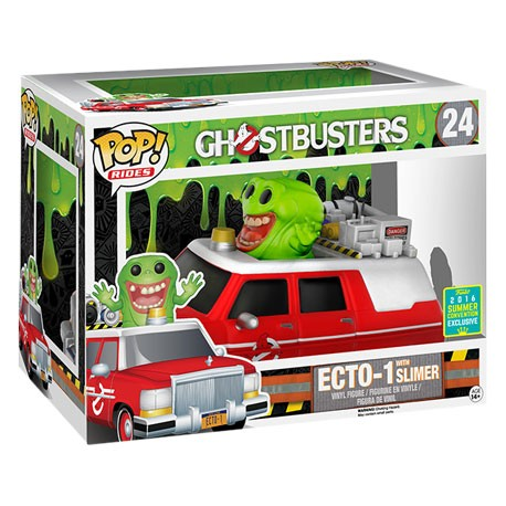 Figur Pop! SDCC 2016 Movies Ghostbusters Ecto 1 with Slimer Limited Edition Funko Online Shop Switzerland