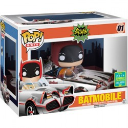 Pop SDCC 2016 DC Silver 66 Batmobile Limited
