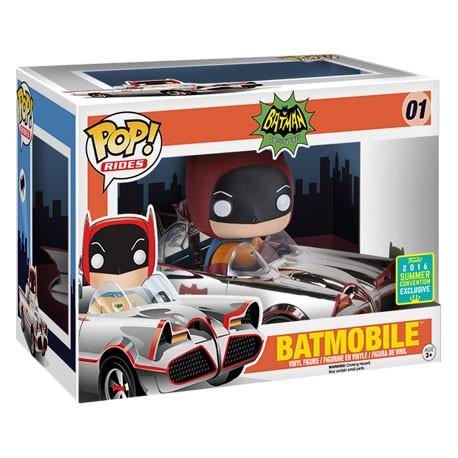 Figur Pop! SDCC 2016 DC Silver 66 Batmobile Limited Edition Funko Online Shop Switzerland