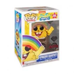 Figur Pop! Diamond SpongeBob SquarePants with Rainbow Glitter Limited Edition Funko Online Shop Switzerland